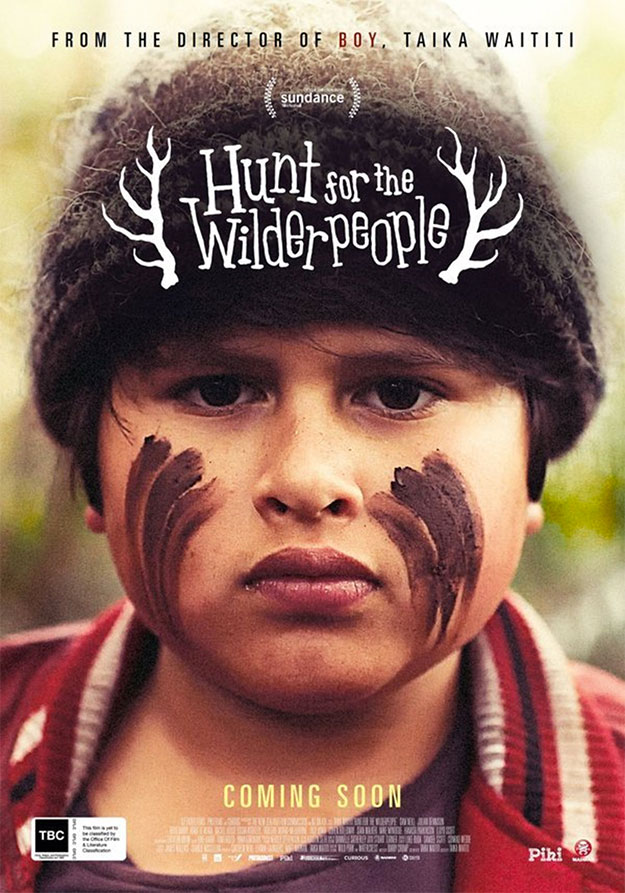 Cartel de Hunt for the Wilderpeople