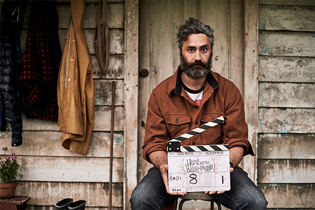 Taika Waititi... director de Hunt for the Wilderpeople y, con esa cara, Thor: Ragnarok!