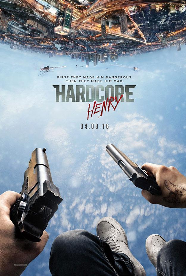 El cartel de Hardcore Henry que vimos el otro día