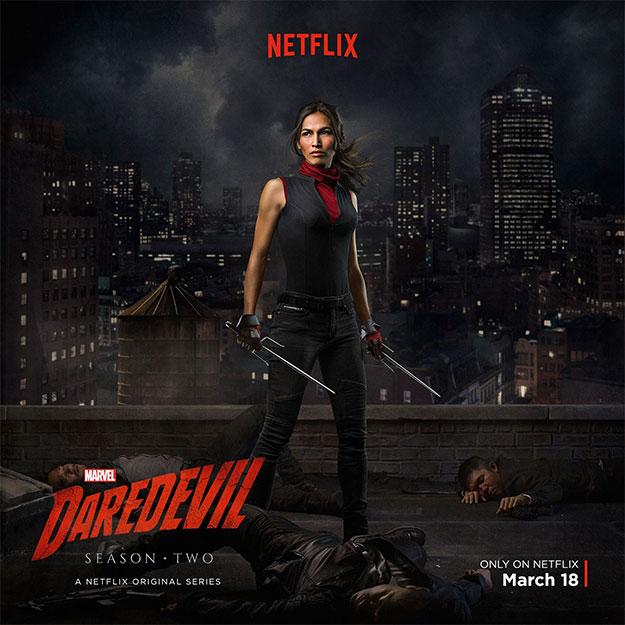 """Saludemos a Electra en la segunda temporada de """"Daredevil"""""""