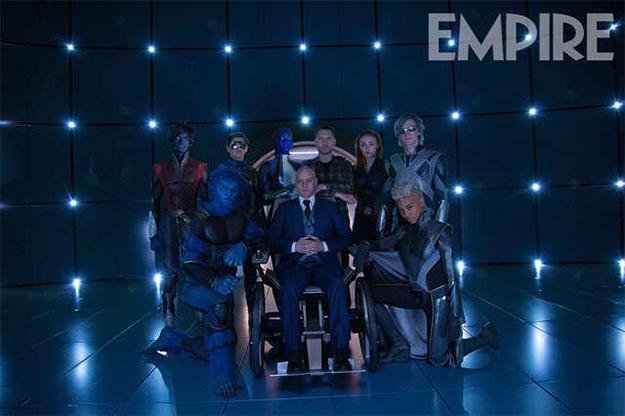 Nuevos y viejos mutantes en X-Men: Apocalipsis