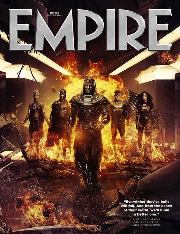 Interesante portada esta de Empire