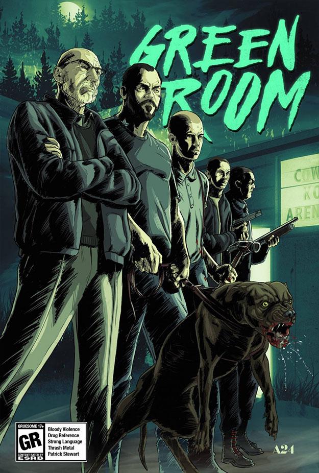 Salvaje Green Room