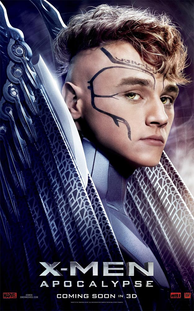 el par de carteles que nos faltaban de X-Men: Apocalipsis