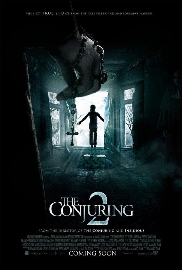 El segundo cartel de The Conjuring 2, James Wan promete apretarnos las tuercas