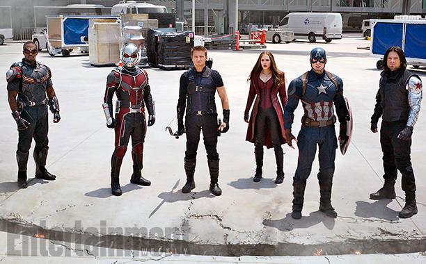 galería de imágenes definitiva de Capitán América: Civil War