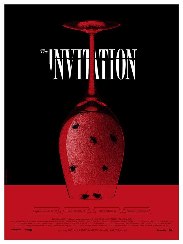 Fabuloso cartel de La invitación