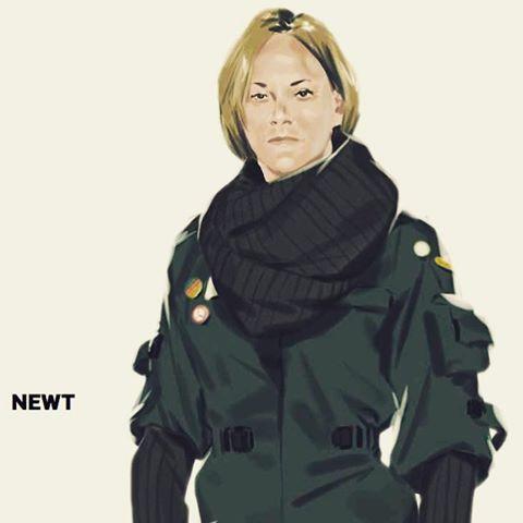 Newt una mujer en Alien 5 de Neill Blomkamp