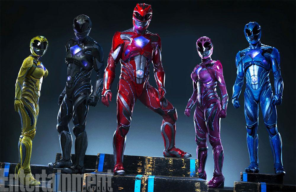 Saludemos a los nuevos Power Rangers o Iron Rangers