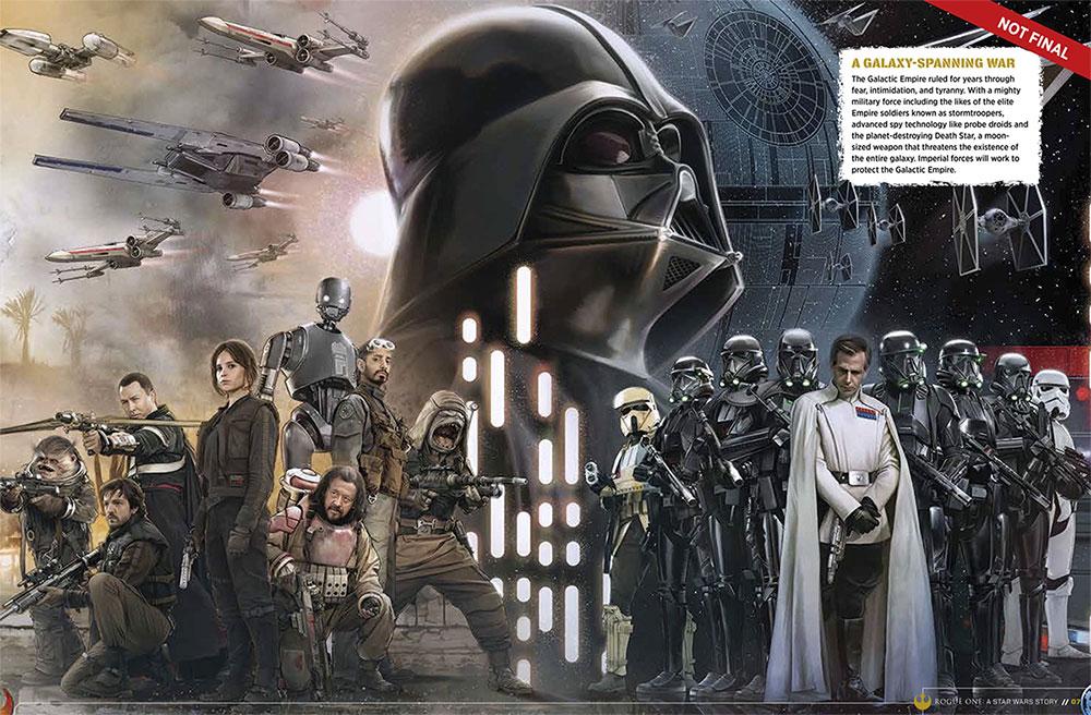 Todos los nuevos personajes en Rogue One: Una Historia de Star Wars