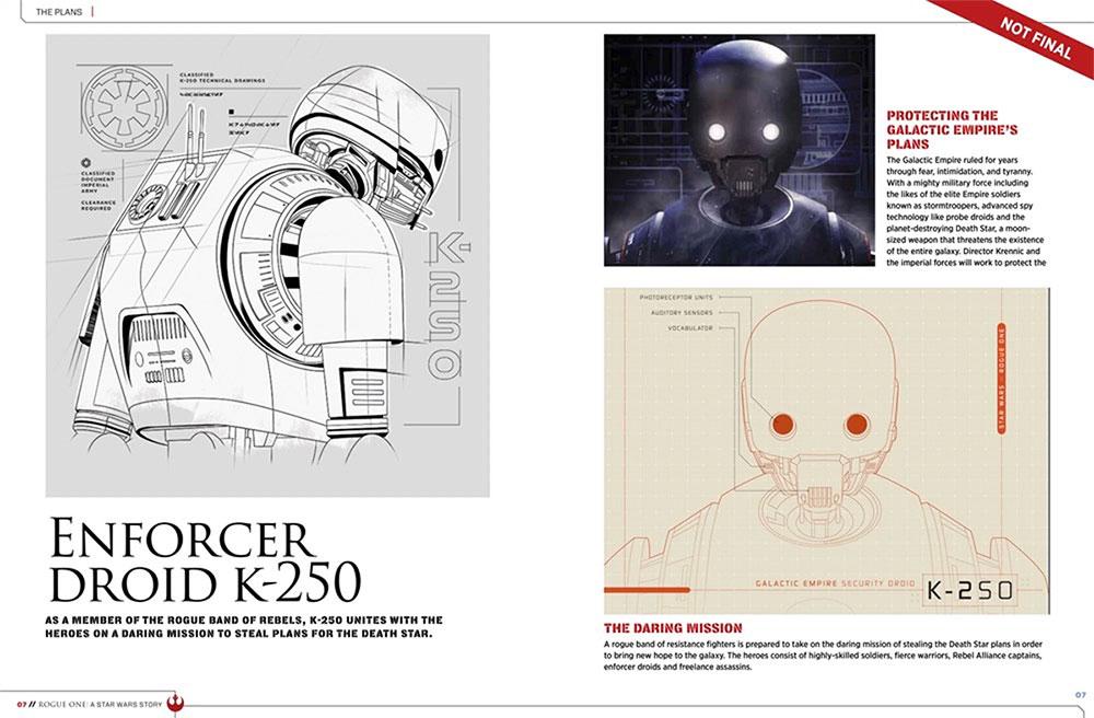 K-250, pieza clave de Rogue One: Una Historia de Star Wars
