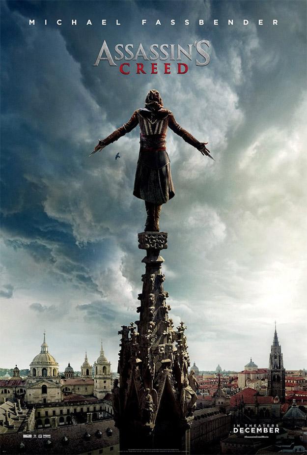 Muy bonito el cartel de Assassin's Creed, viva la arquitectura clásica