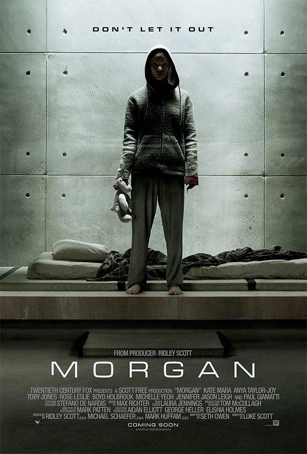 El primer cartel de Morgan... Ridley Scott + Luke Scott = interesante
