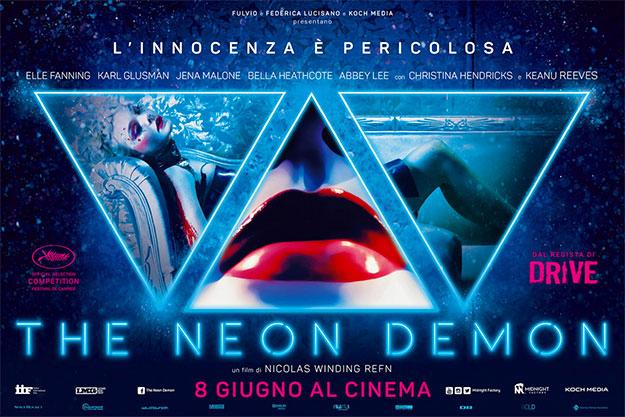 Otro cartel más de The Neon Demon, italiano