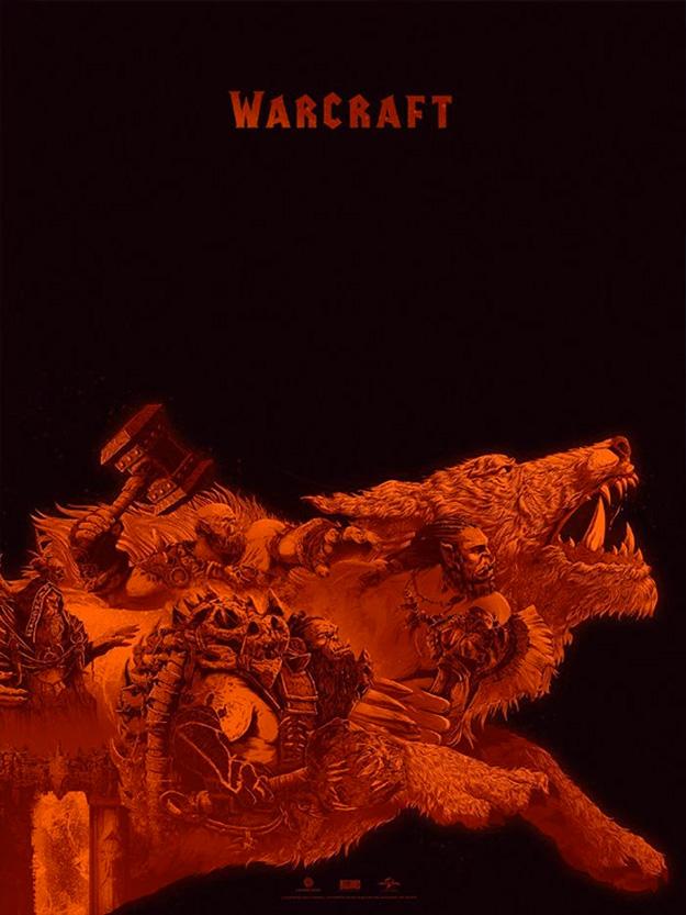 Cartel del lado orco para Warcraft por Kevin Tong