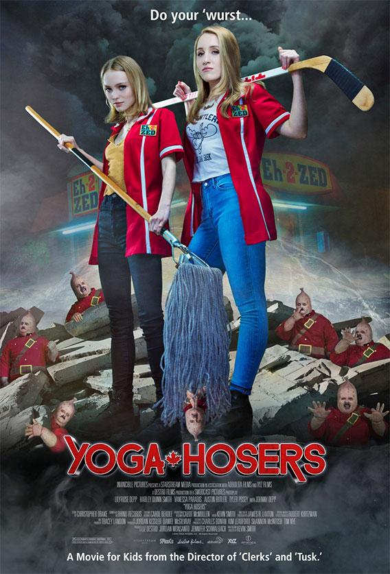 Cartel, simpático, de Yoga Hosers