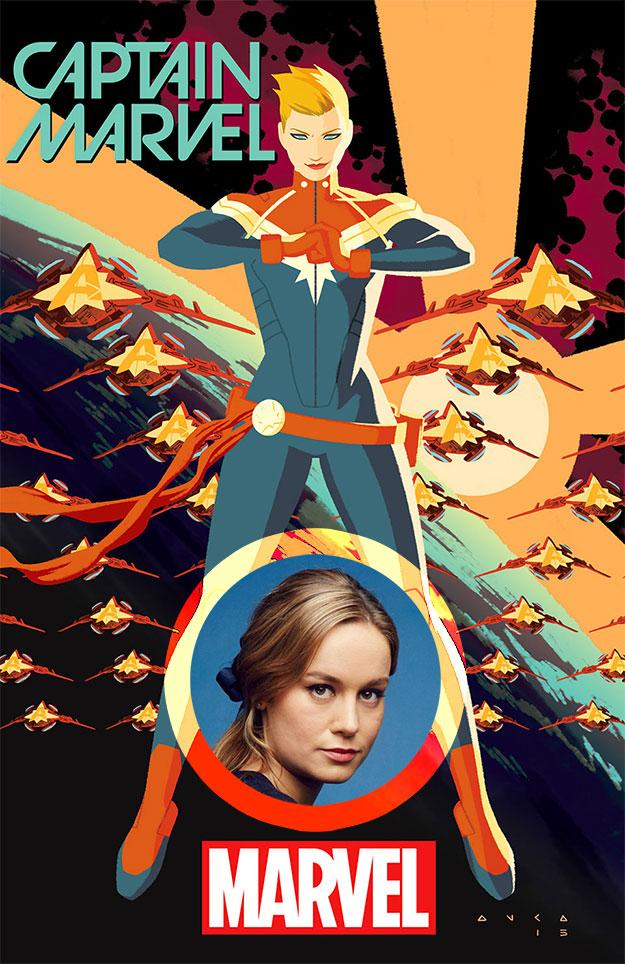 Captain Marvel puede tener la cara de Brie Larson si los astros se alinean