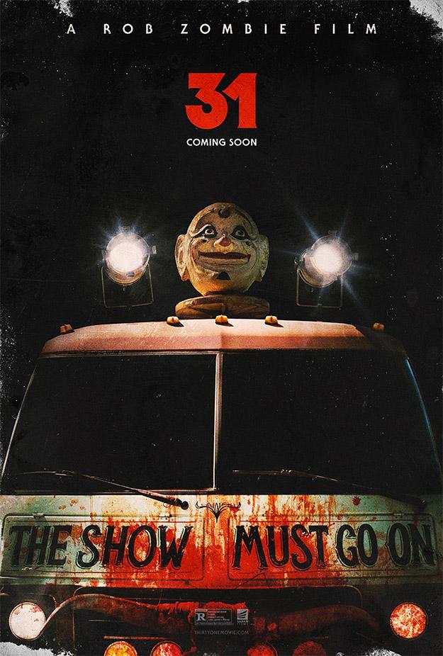Primer muy molón cartel de 31 de Rob Zombie