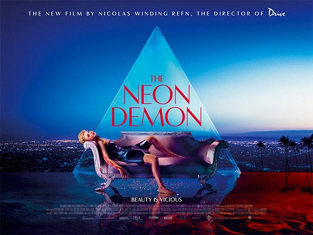 Otro cartel más de The Neon Demon
