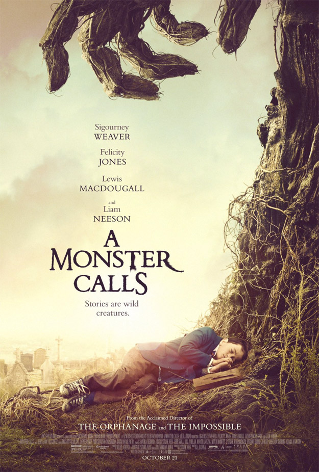 Nuevo póster de Un monstruo viene a verme