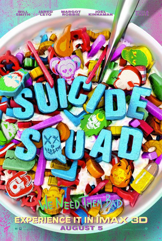 Cartel IMAX de Escuadrón Suicida