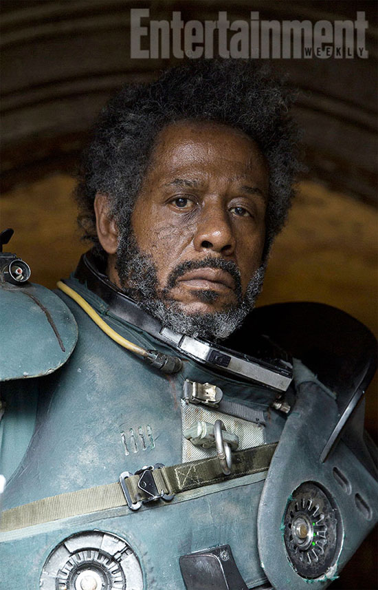 Forest Whitaker es Saw Gerrera