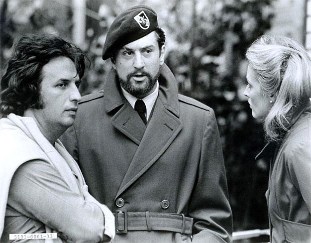 Michael Cimino, Robert de Niro y Meryl Streep en El cazador