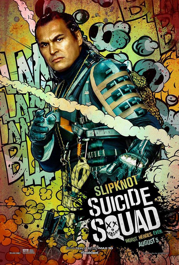Olvidados en el baúl de los recuerdos una batería de carteles de Escuadró Suicida