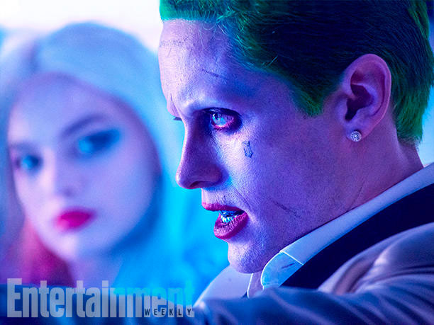 Margot Robbie como Harley Quinn y Jared Letto como El Joker