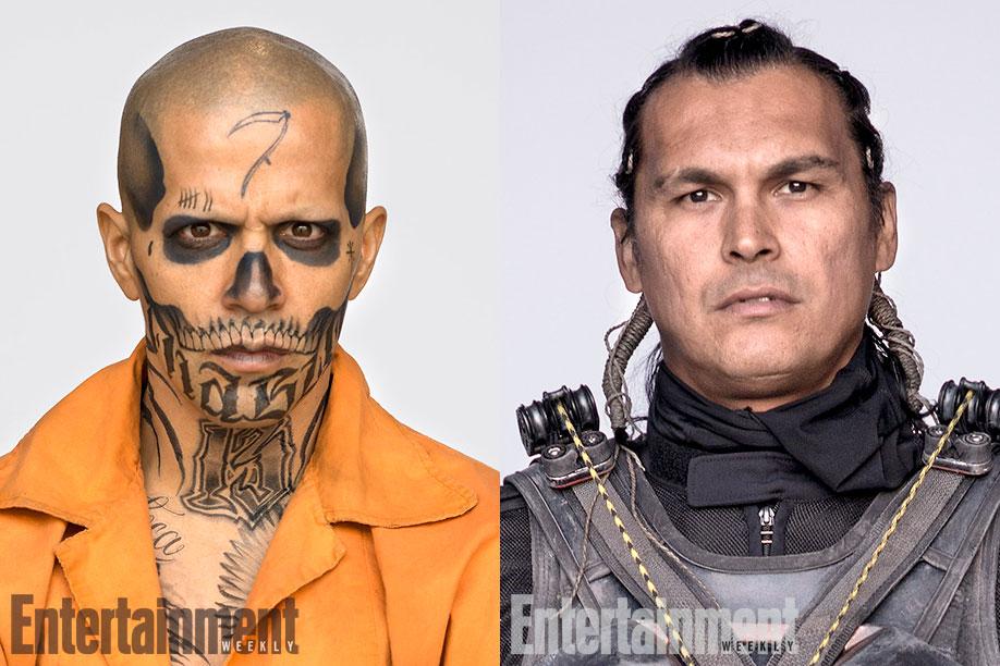 fotos retrato de Clay Enos a todos los personajes molones de este Escuadrón Suicida