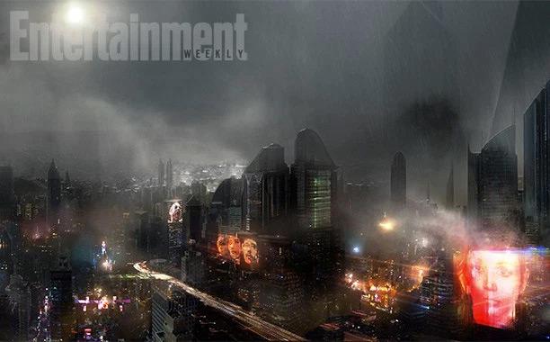 Pulsando podéis ver la versión ampliada del futuro de Blade Runner 2