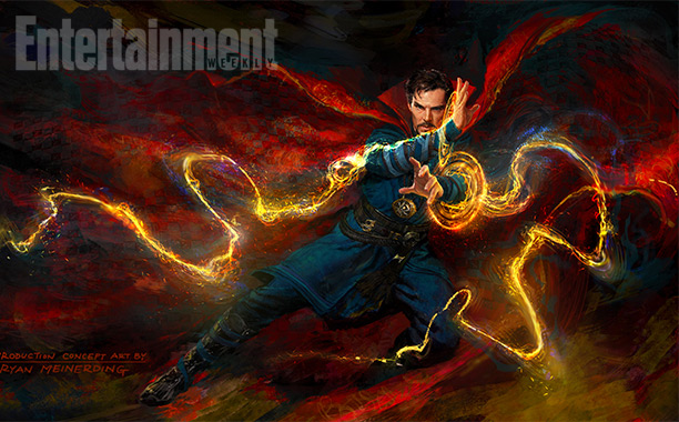 Nuevo concept art para Doctor Strange