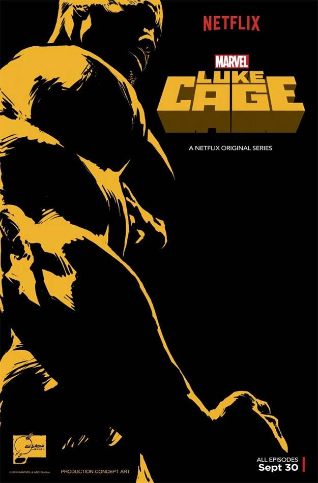 """Cartel de """"Luke Cage"""" para la Comic-Con de San Diego"""