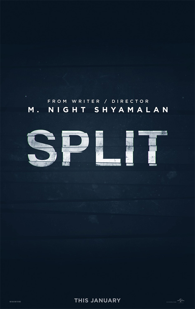 Primer cartel de Split de M. Night Shyamalan