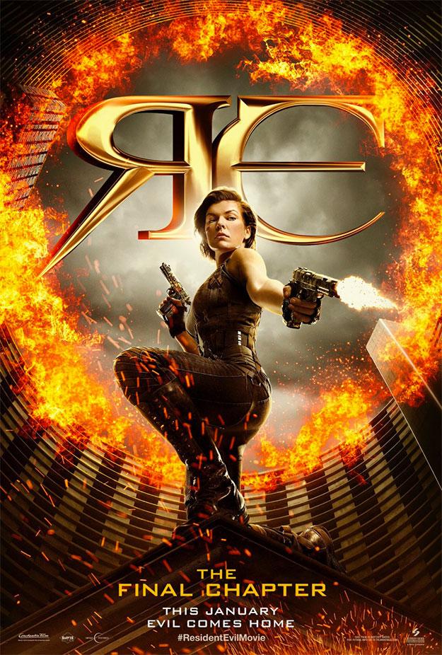 El día que Milla Jovovich no se pareció a Milla Jovovich. Resident Evil: The Final Chapter