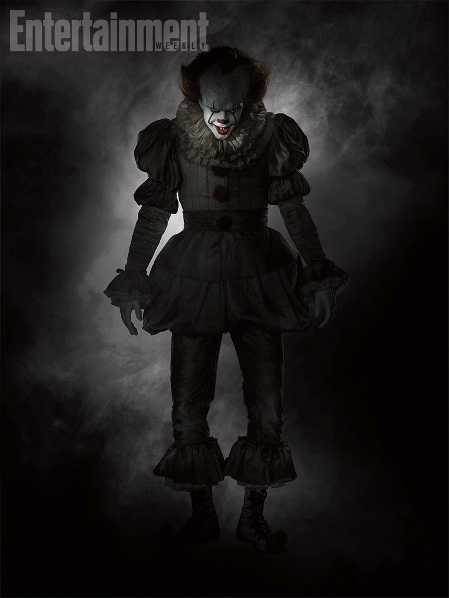 Pennywise en la nueva It de Andy Muschietti