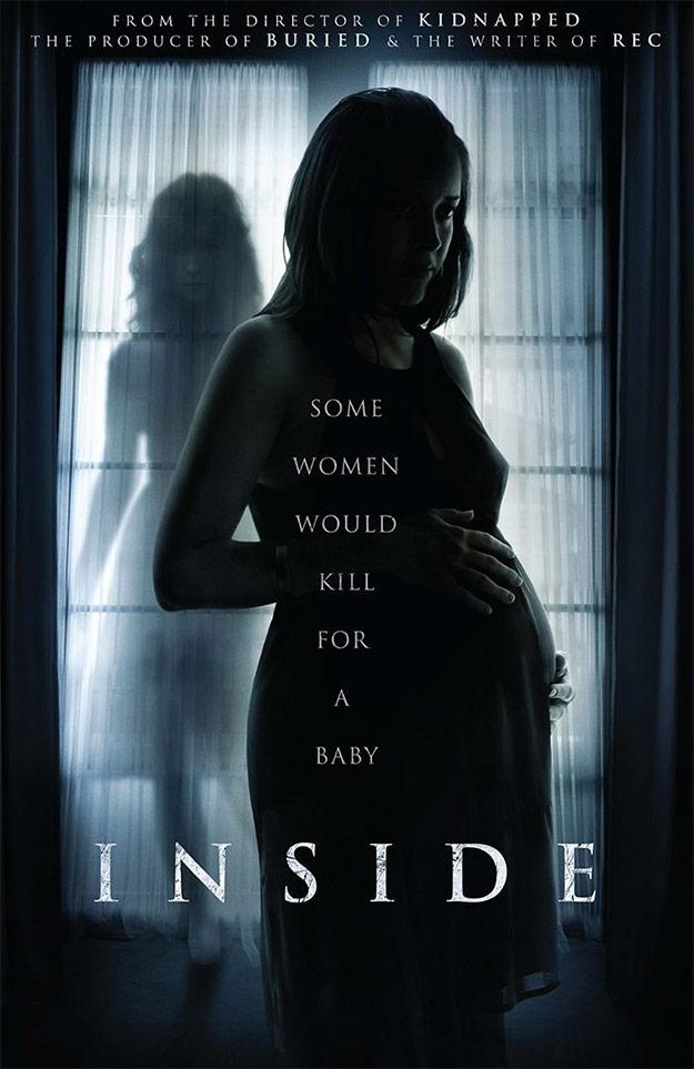 Inside, el remake de À l'intérieur, inaugurará este terrorífico 2016