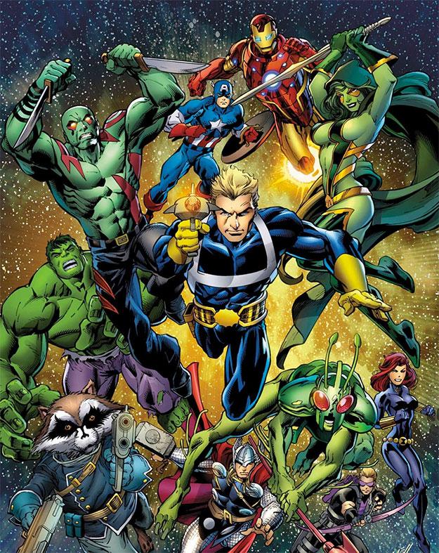 Los Guardianes de la Galaxia estarán en Avengers: Infinity War