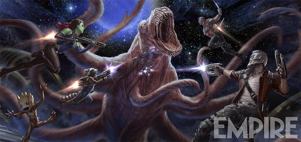 Nuevo concept art de Guardians of the Galaxy Vol.2
