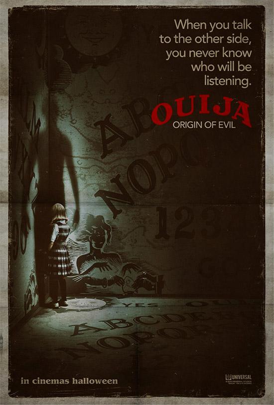 Curioso cartel de Ouija: Origin of Evil