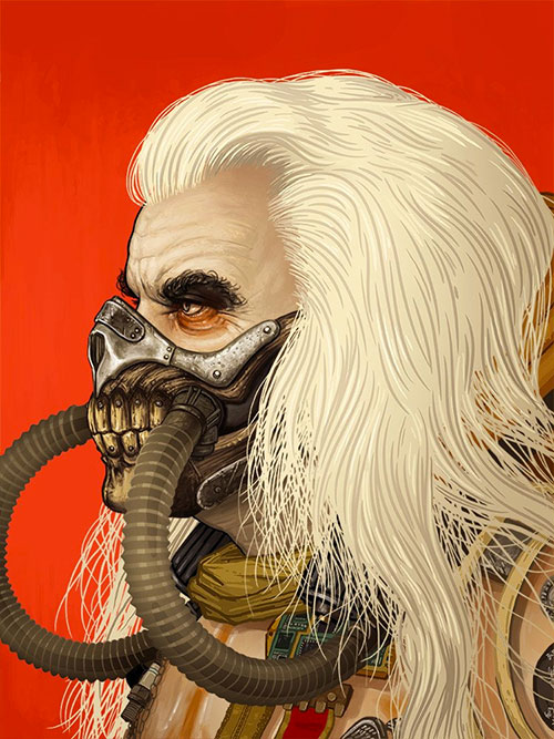 Max Rockatansky e Immortan Joe