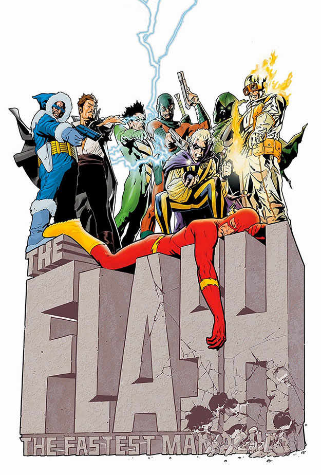 Pues no estaría mal un grupo de villanos de medio pelo como los Rogues en The Flash