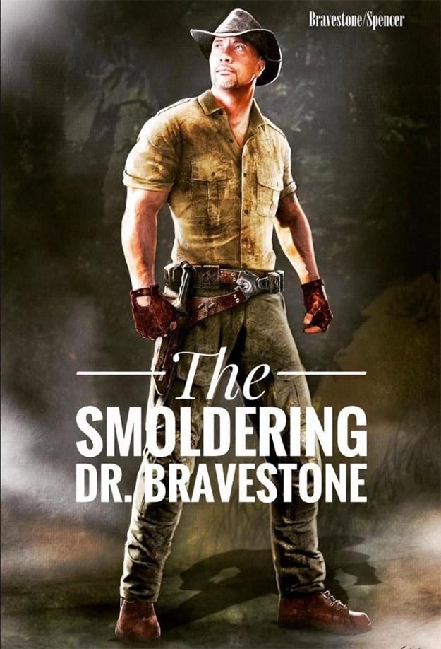 """""""The Smoldering"""" Dr. Bravestone en Jumanji"""