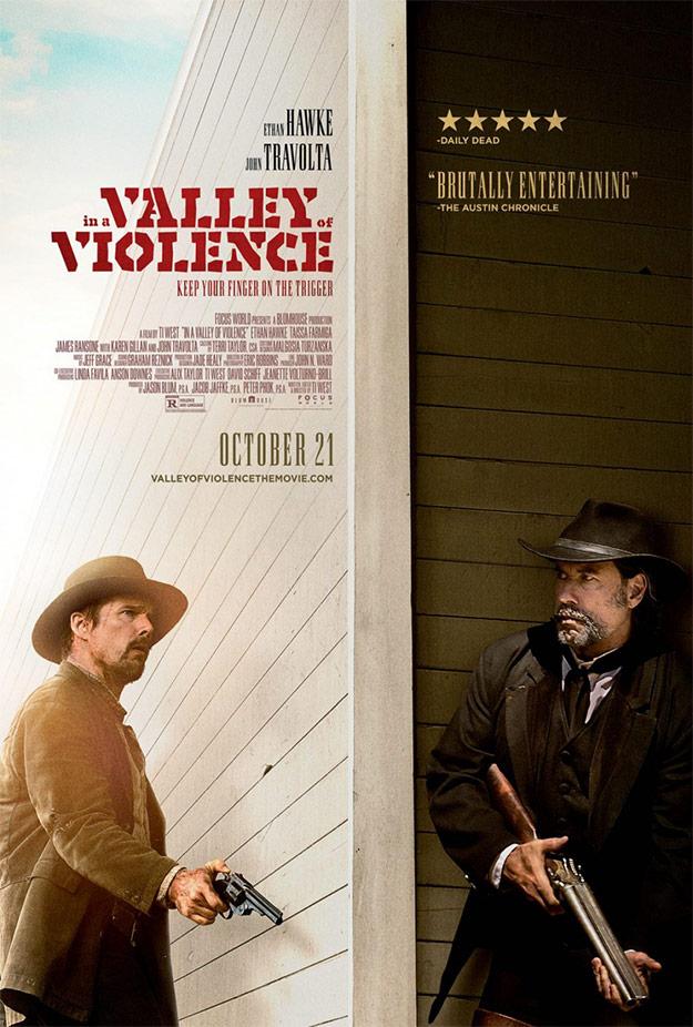 Nuevo cartel de In a Valley of Violence... quiero verla