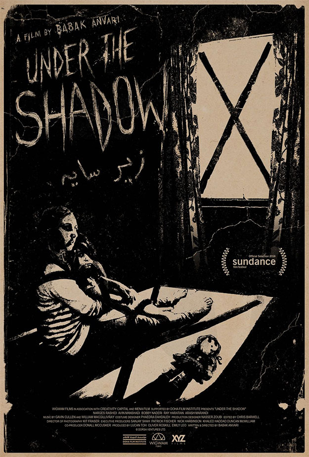 Cartel de Under the Shadows, una de las sorpresas de Sundance