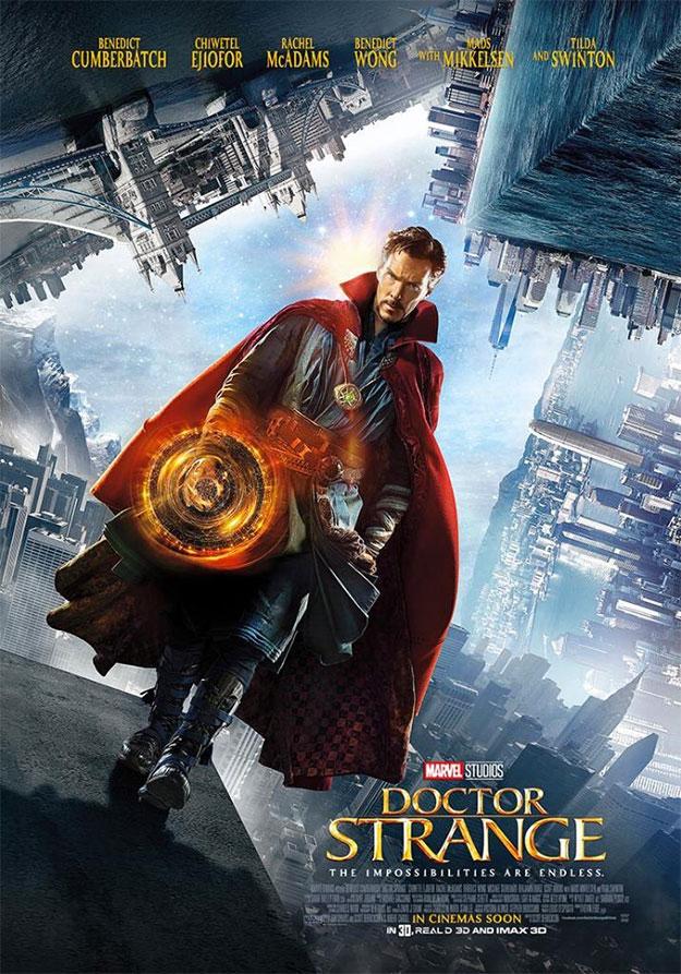 Doctor Strange AKA Benedict Cumberbatch cruza mundos paralelos