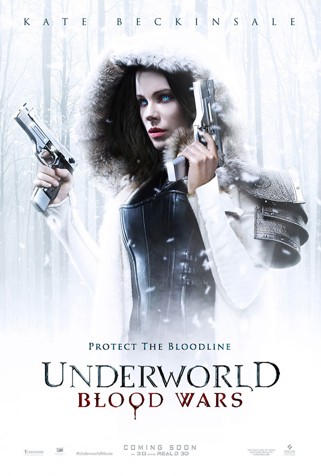 El primer blanco cartel de Underworld: Blood Wars