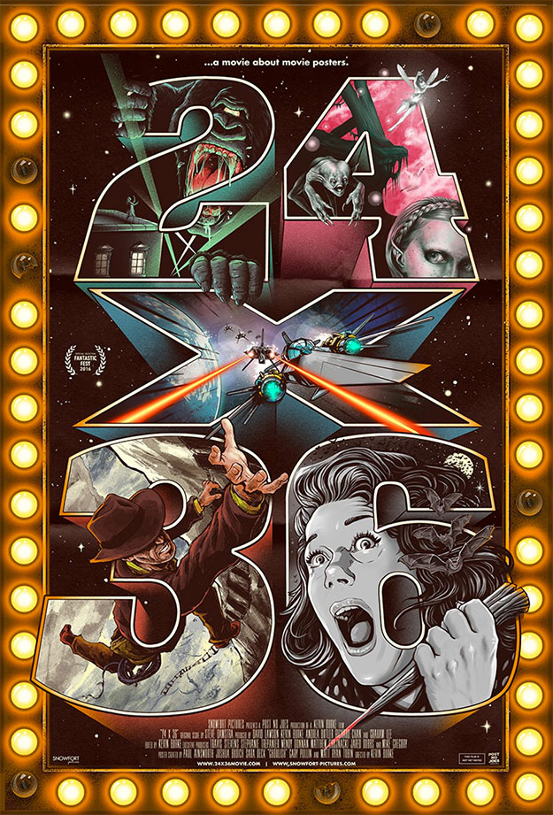 Cartel del documental 24X36: A Movie About Movie Posters