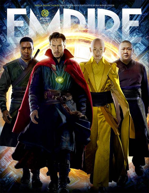 Interesante portada de Empire dedicada a Doctor Strange... aquí la otra