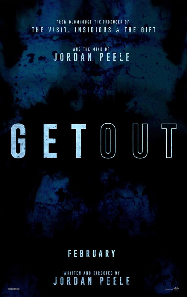 El cartel de Get Out, simple